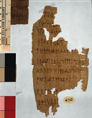 P. Rylands 470 fragment