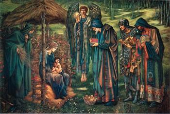 Star of Bethlehem, Edward Burne-Jones, 1890