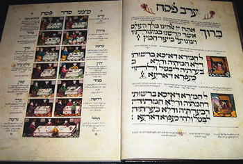 Examples of the Holy Books held by the New Zealand Jewish Archives