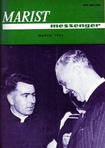 Fr John O'Neill SM meets Prime Minister Holyoake, March 1965