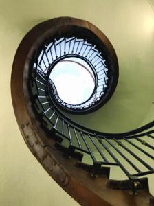 La Neylière staircase