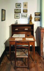 Fr Colin's study desk