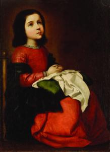 Childhood of the Virgin, Francisco de Zurbarán, c.1660